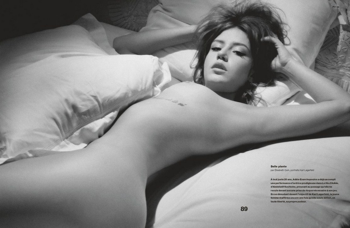 Adèle Exarchopoulos Naked